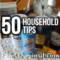 50 Household Tips