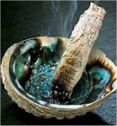 The Native Americans have been doing this with great results for years. Burning sage while stating an intention is a great method for clearing energy.