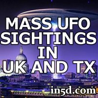 Mass UFO Sightings In Texas And UK | in5d Alternative News | in5d.com |