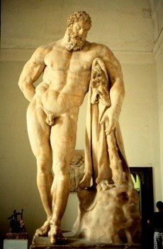 """Heracles is the Son of a god (Zeus). It is recorded that Zeus is both the father and great-great- great grandfather of Heracles, just as Jesus is essentially his own grandpa, being both """"The root and offspring of David"""" (Revelation 22:16) as he is part of the triune God which is the father of Adam and eventually of Jesus. Both are doubly related to the Supreme God."""