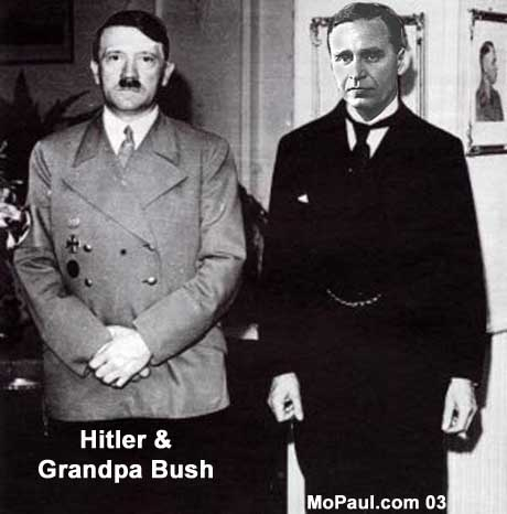 George W. Bush's grandfather, Prescott Bush, funded both sides of World War II