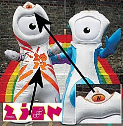 Eye of Horus and/or Alien Extraterrestrial are the Official Mascots?