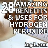 What are some uses of hydrogen peroxide?