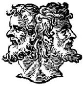 JANUARY-Named for the Roman god Janus,' god of doorways' and beginnings. (Remember the Pope opened the 'Holy Door' on Jan. 1 2000?)January is man's beginnings not God's. The holy bible reveals that God's new year is around March 21 when the spring equinox occurs.