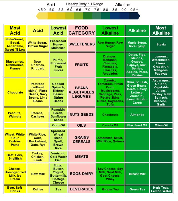 What Foods Have High Alkaline
