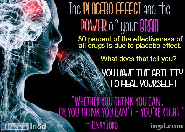 50 Percent of The Effectiveness of All Drugs Is Due To Placebo