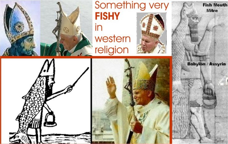Why Is The Pope's Mitre Shaped Like a Fish? | In5D.com
