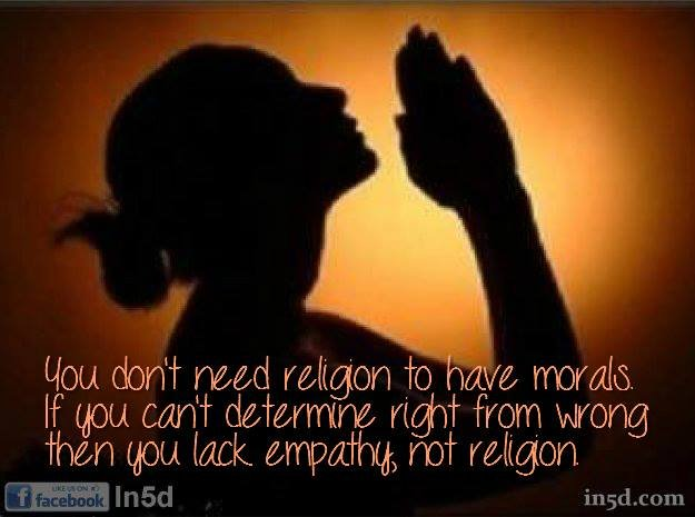 Religion Gives Us the World's Largest Mental Disorder – Religithexia | in5d.com |