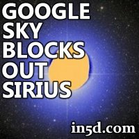 Google Sky Blocks Out Sirius: Vatican, December 21, 2012 Connection?