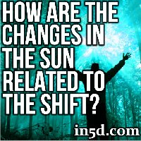 How Are The Changes In The Sun Related To The Shift?