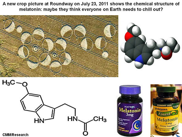 Melatonin Supplement to Open Pineal Gland