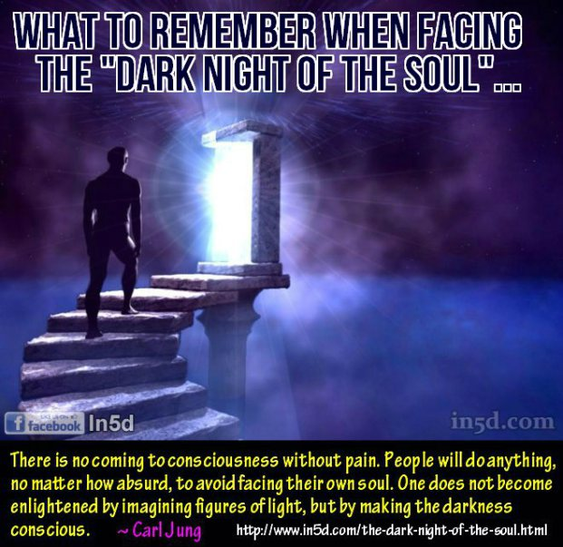 There is no coming to consciousness without pain. People will do anything, no matter how absurd, to avoid facing their own soul. One does not become enlightened by imagining figures of light, but by making the darkness conscious.~ Carl Gustav Jung