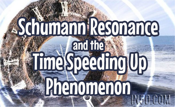 Schumann Resonance And The Time Speeding Up Phenomenon