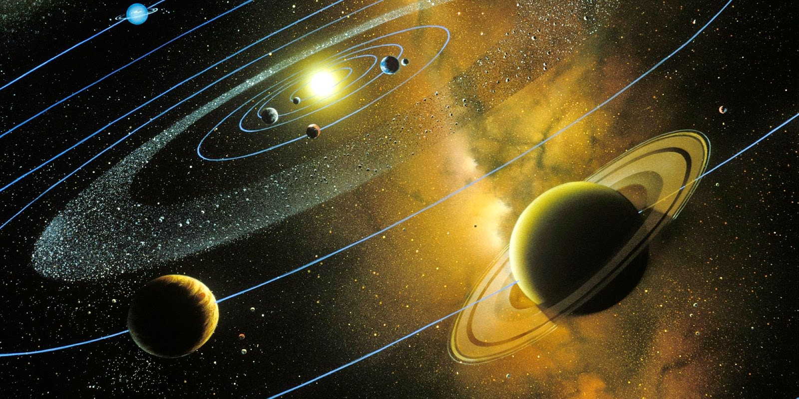 what makes our solar system - photo #25