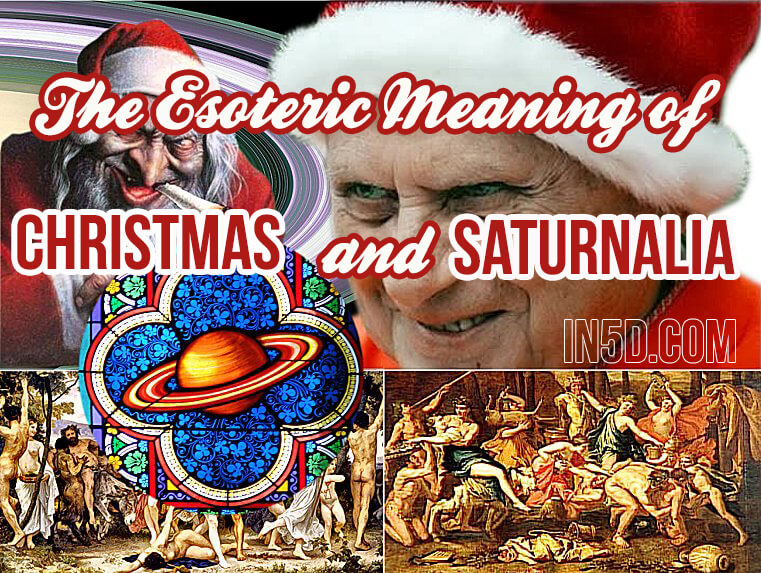 Esoteric Meaning Of Christmas And The Winter Solstice - In5D