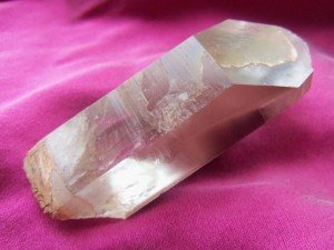 Another high vibration crystal that is known for bringing in the light codes is Lithium Quartz. I am often guided to place it over the third eye of my clients, and many report seeing light language for the first time.