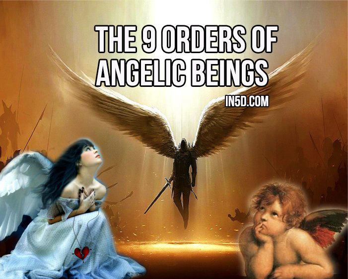 The 9 Orders Of Angelic Beings