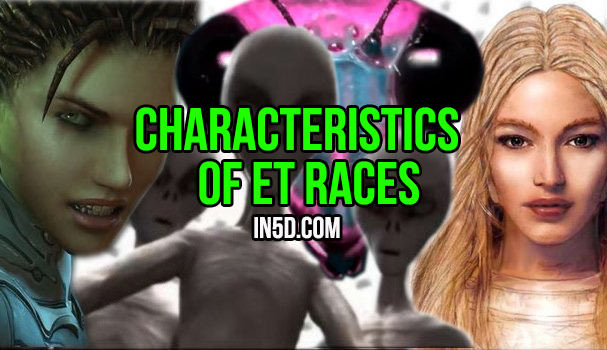 Characteristics Of ET Races