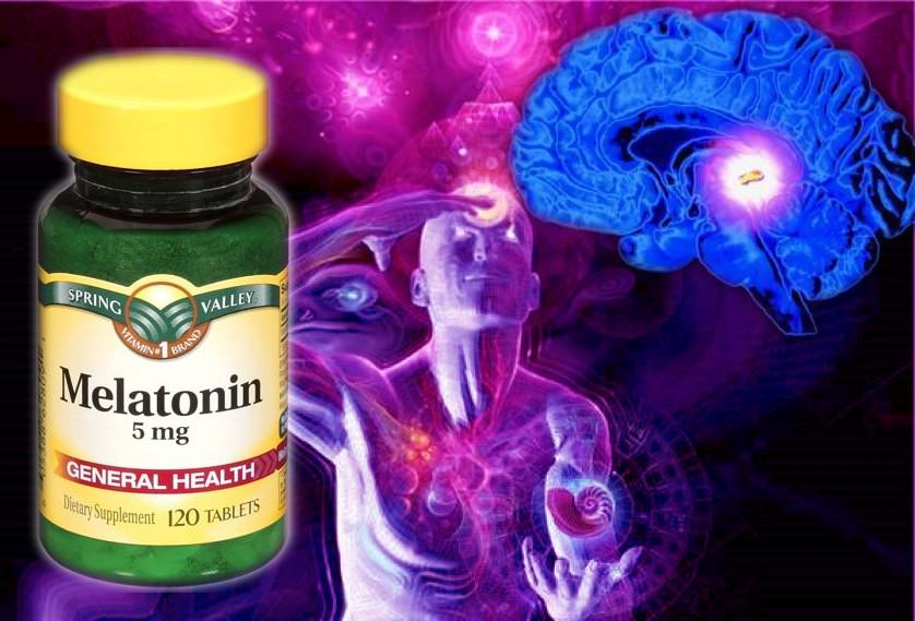 pineal gland 3rd eye melatonin