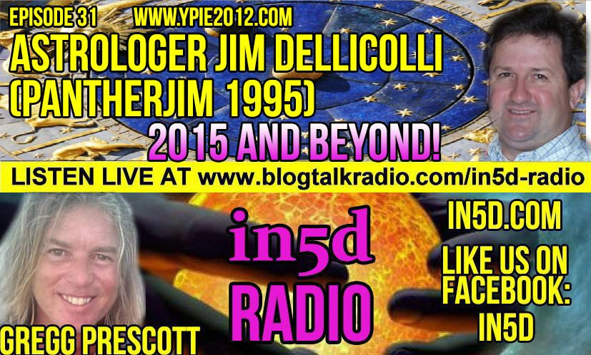 In5D Radio - 2015 and Beyond - Astrologer Jim Dellicolli