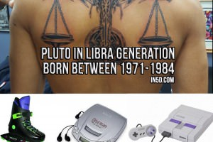 Pluto in Libra Generation Born Between 1971 And 1984