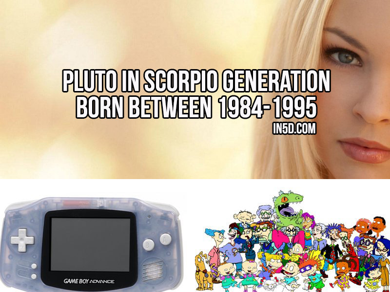 Pluto In Scorpio Generation Born Between 1984-1995
