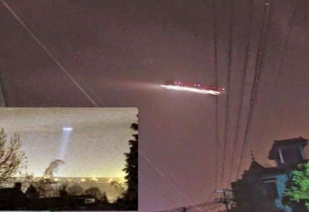 Xiaoshan Airport UFO Incident, China