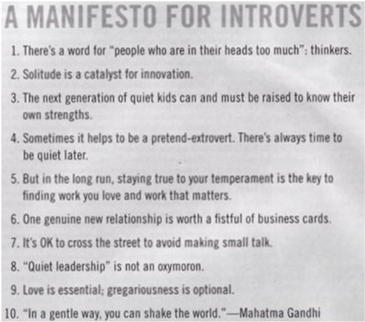 Introverts And Spirituality
