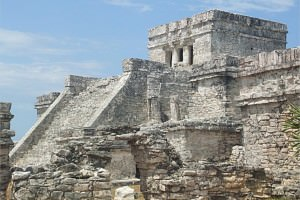 My Mayan Pyramid Pictures in Tulum, Mexico