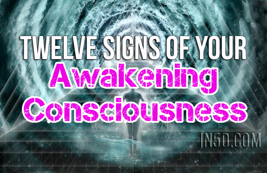 Twelve Signs Of Your Awakening Consciousness