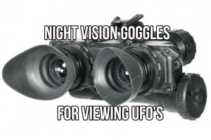 The Best Night Vision For Seeing UFOs