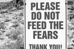 Please do not feed the fears.  Thank you!