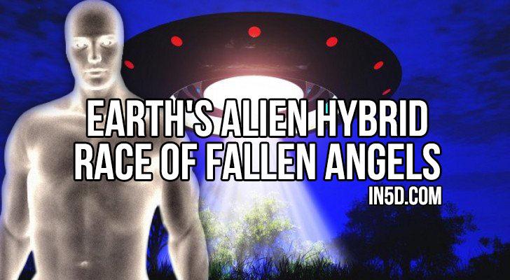 Earth's Alien Hybrid Race Of Fallen Angels  in5d