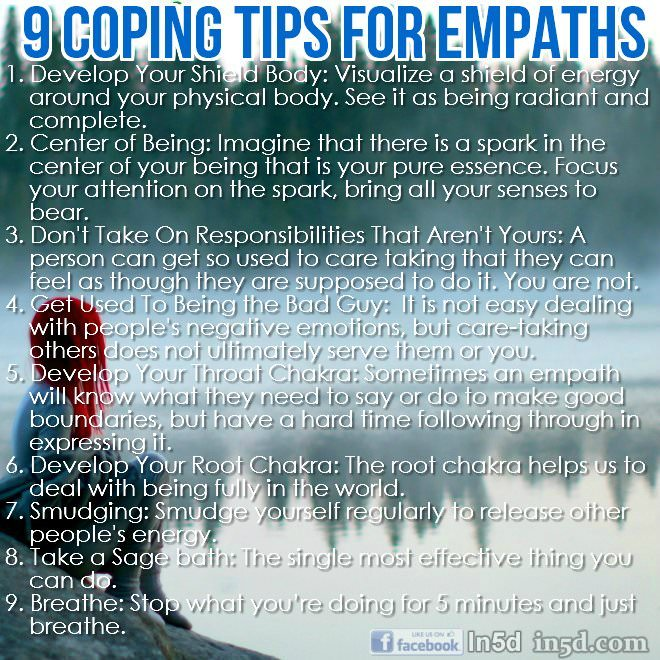 9 coping tips for empaths in5d