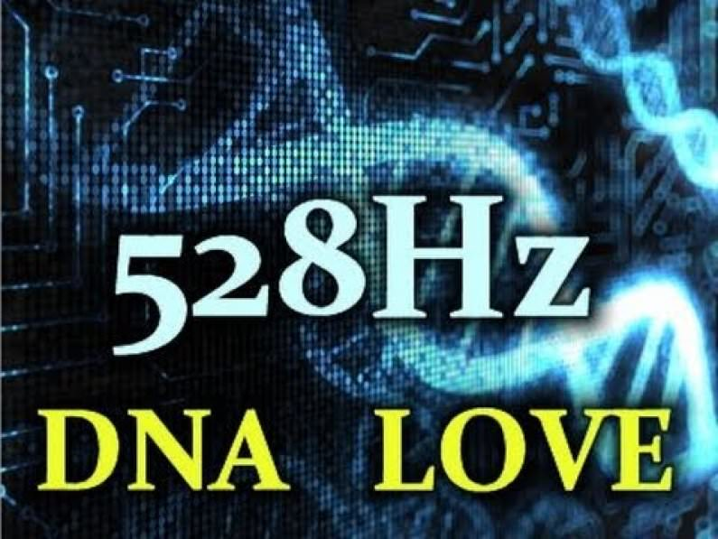528Hz DNA Frequency Meditation Video - UNLOCK Your Codons!!! in5d