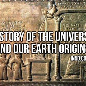 the creation of the universe the earth and human beings After creating the earth, the sky, the seas and plants, god made birds and fish on   that they describe exactly how the universe and human beings were created.