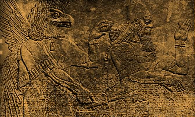 "Another example comes from the Sumerian texts, which date back to 6,500-7,000 years ago, long before ""God"" allegedly created Earth:"