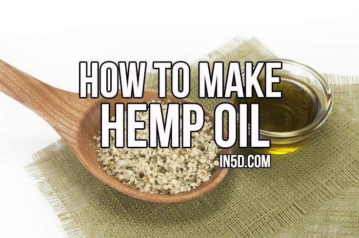 How To Make Hemp Oil