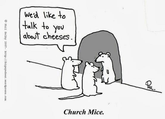 We'd like to talk to you about cheeses. - Church Mice Facebook: In5 Website: //www.in5d.com/