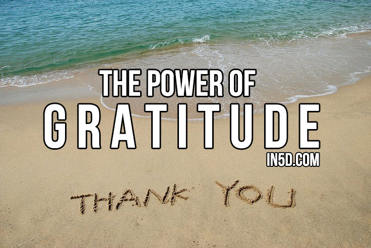 Discover The Power Of Gratitude To Unleash Unlimited Abundance And Happiness In Your Life  in5d