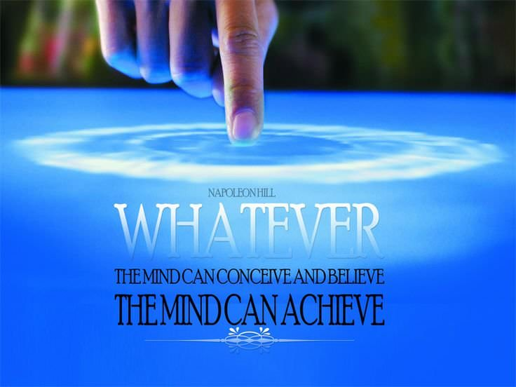 Napoleon Hill - Whatever Your Mind Can Conceive And Believe, It Can Achieve in5d in 5d