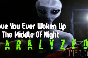 Have You Ever Woken Up In The Middle Of Night Paralyzed? You're Not Alone