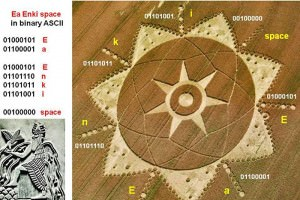 Anunnaki Message? The Crop Circle Ea Enki, Nibiru and Marduk