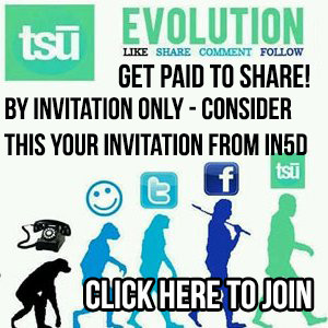 Follow In5D and Body, Mind, Soul, & Spirit on TSU!