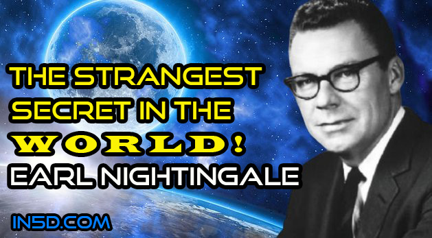 Earl Nightingale – The Strangest Secret In The World- Plus Transcript