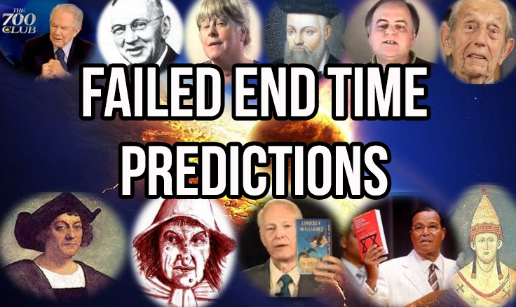 A Brief History Of FAILED End Time Predictions in5d in 5d in5d.com www.in5d.com http://in5d.com/ body mind soul spirit BodyMindSoulSpirit.com http://bodymindsoulspirit.com/