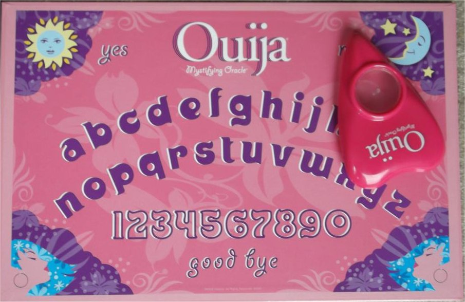 Pink Ouija Board Being Marketed To 8 Year Old Girls in5d in 5d in5d.com www.in5d.com //in5d.com/