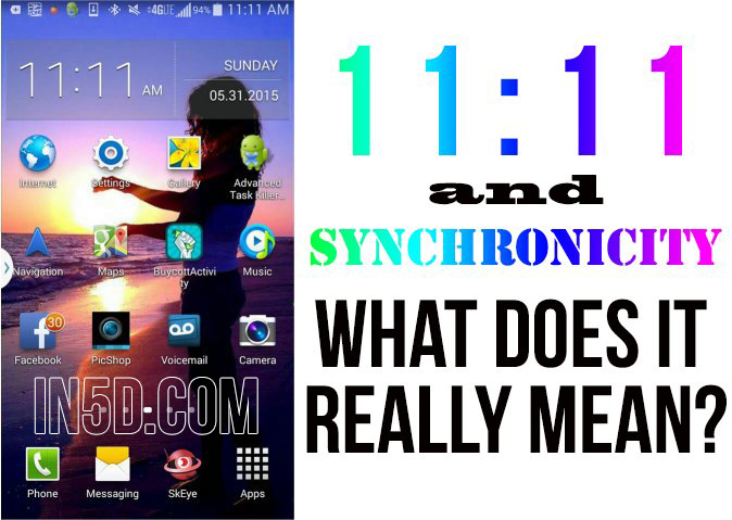 11:11 And Synchronicity - What Does It REALLY Mean?  in5d in 5d in5d.com www.in5d.com http://in5d.com/ body mind soul spirit BodyMindSoulSpirit.com http://bodymindsoulspirit.com/