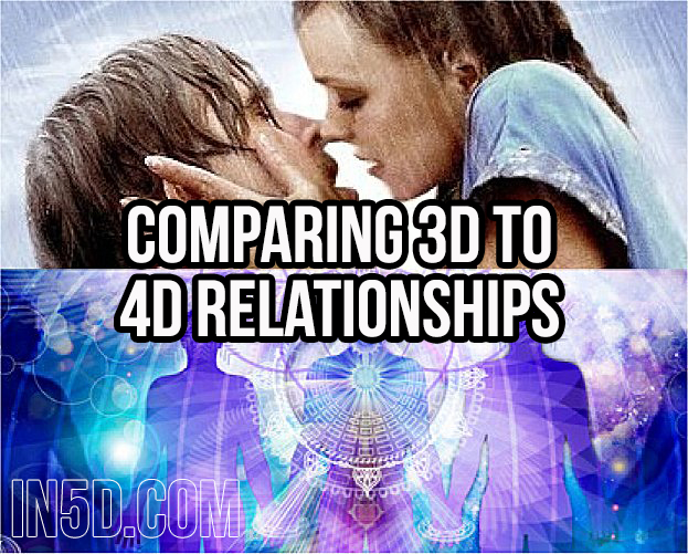Comparing 3D To 4D Relationships in5d in 5d in5d.com www.in5d.com //in5d.com/%20body%20mind%20soul%20spirit%20BodyMindSoulSpirit.com%20http://bodymindsoulspirit.com/