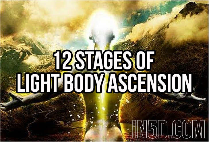 12 Stages Of Light Body Ascension - In5D : In5D